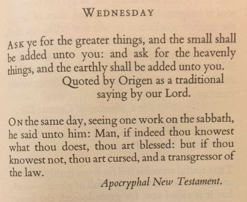 13th Wednesday after Trinity (September 13th  2017)