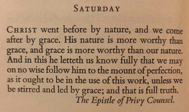 16th Saturday after Trinity (September 30th  2017) top quote