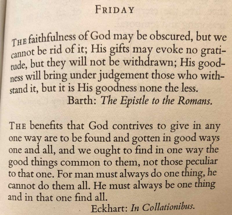 22nd Friday after Trinity (November 10th  2017)