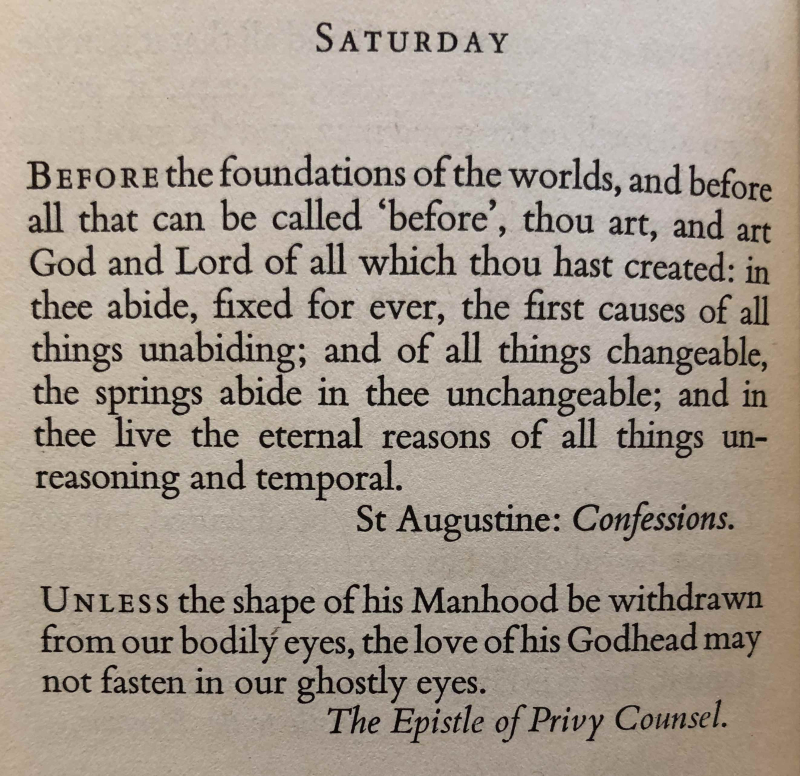 22nd Saturday after Trinity (November 11th  2017)