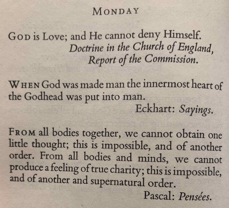 1st Monday of Advent