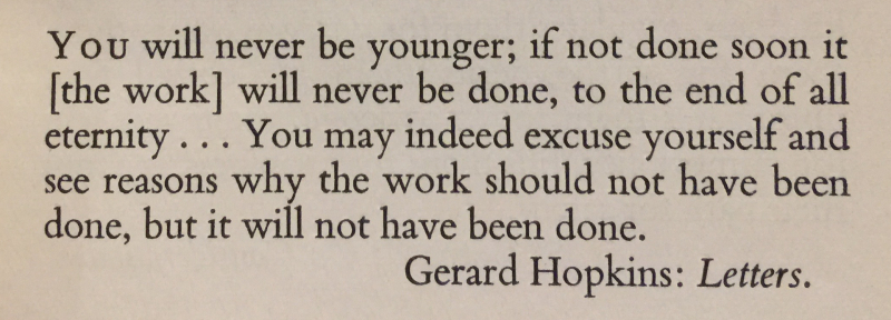Gerard Hopkins- Letters 1st Saturday in Advent