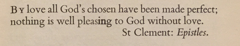 St. Clement 2nd Monday in Advent