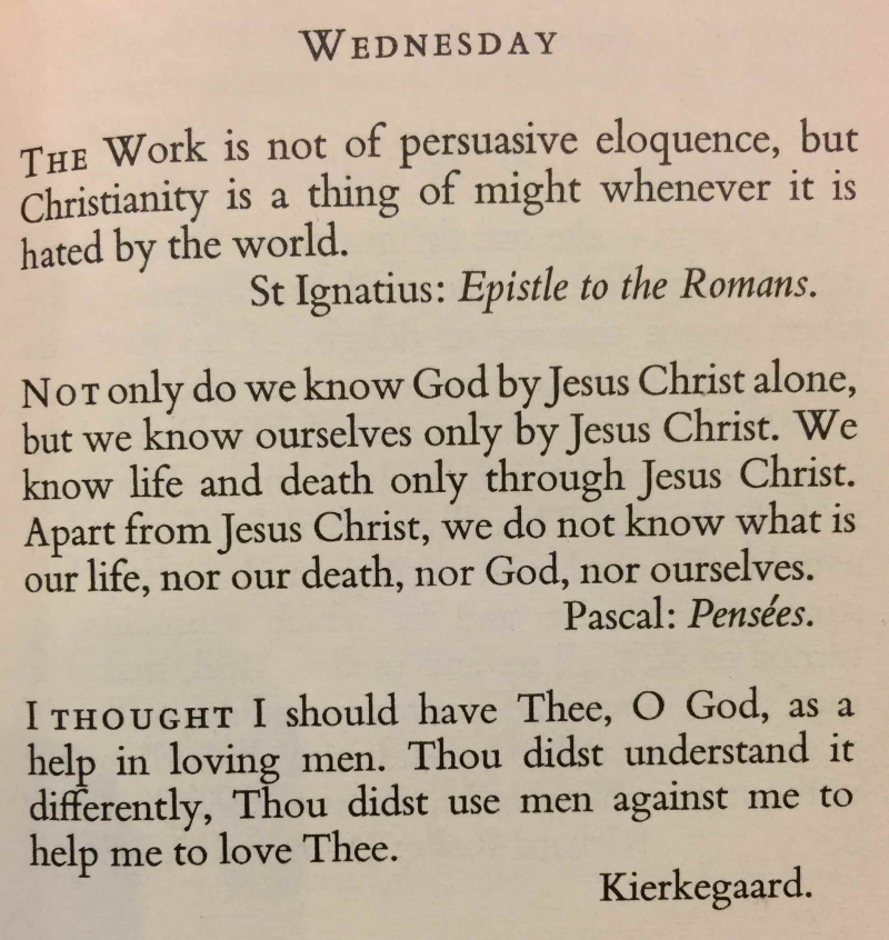 Wednesday After Ascension Day (May 31st  2017) final
