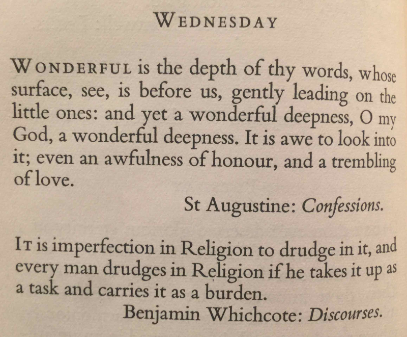 13th Wednesday after Trinity (September 6th  2017)