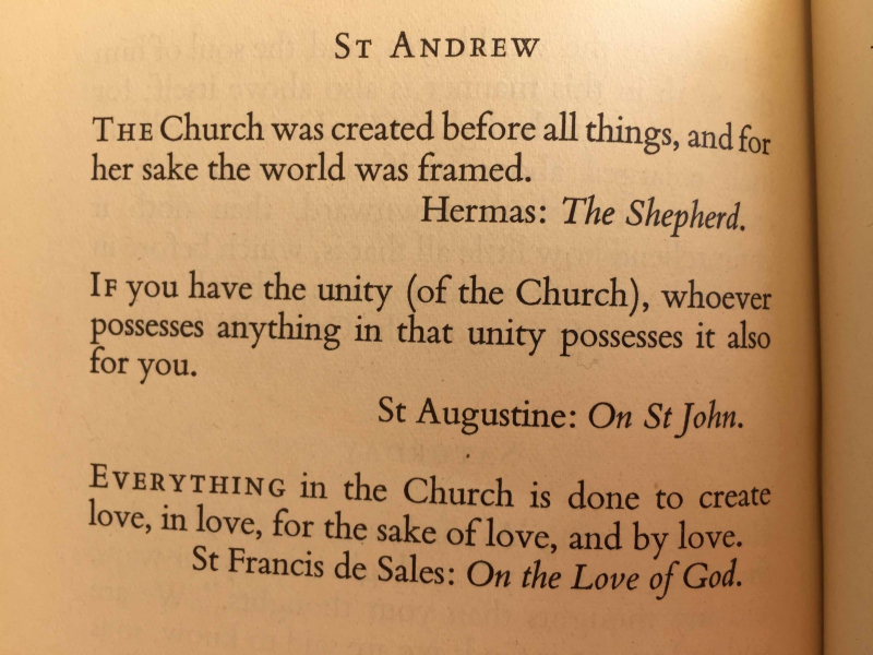 Feast of St. Andrew exported