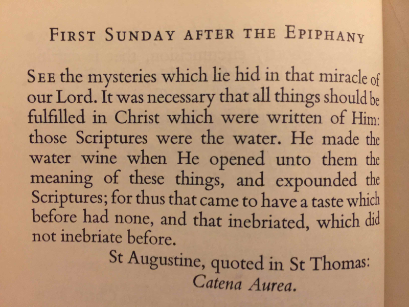 1st Sunday After The Epiphany exported