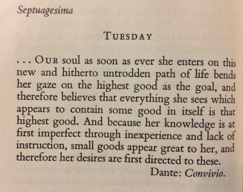 Septuagesima Tuesday (February 14th  2017) exported