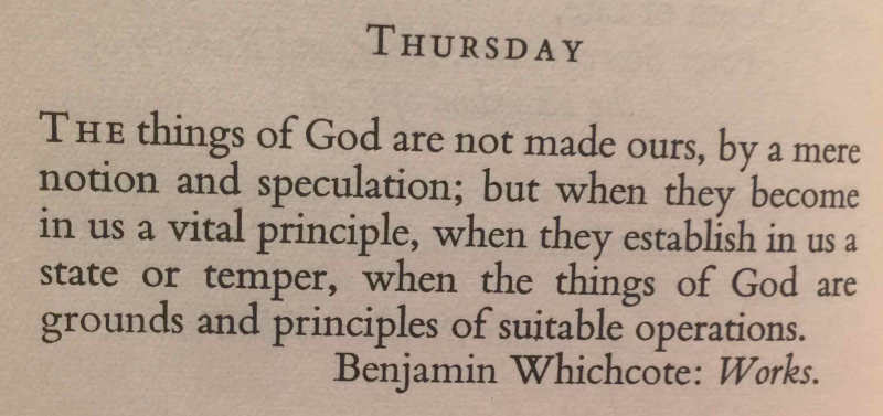 13th Thursday after Trinity (September 7th  2017) top quote