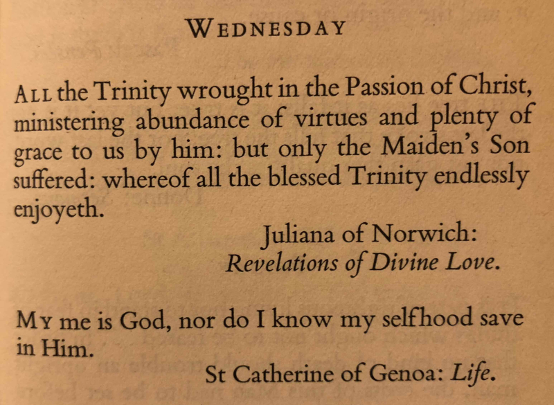 24th Wednesday after Trinity (November 22nd  2017)
