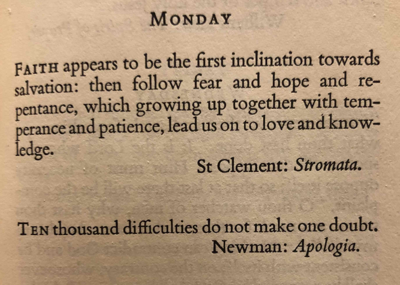 5th Monday after The Epiphany 2