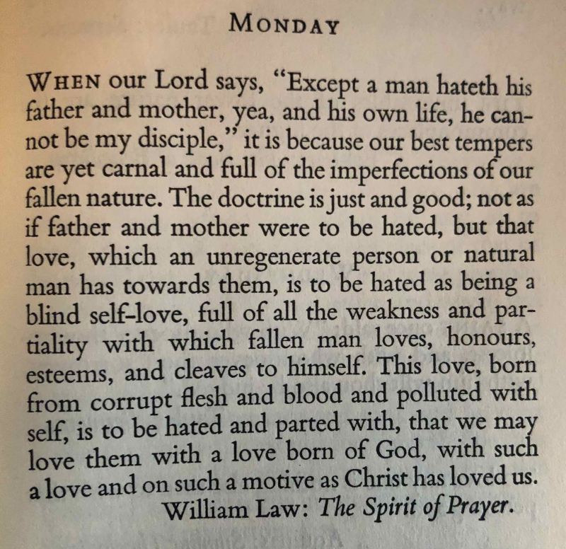 26th Monday after Trinity (6th after Epiphany trans.)